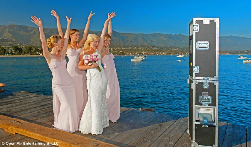 Our PHOTO TOWER Provides Fun Free Entertaining Pictures * Any Affair - Anywhere!