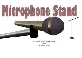 $25.00 extra for optional professional Microphone Stand with Mic holder